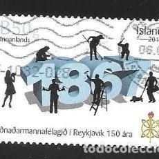 Timbres: ISLANDIA. Lote 224591342