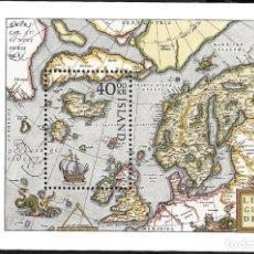 Sellos: ISLANDIA. Lote 224591552