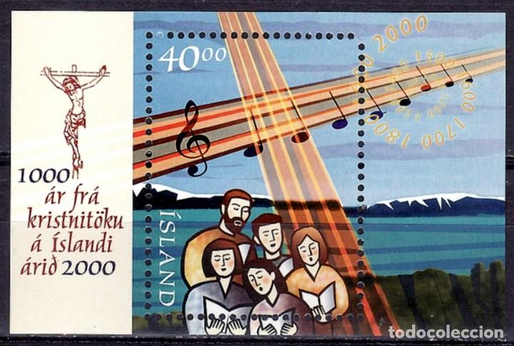SELLOS MUSICA ISLANDIA 881 HB 25. B (Sellos - Extranjero - Europa - Islandia)