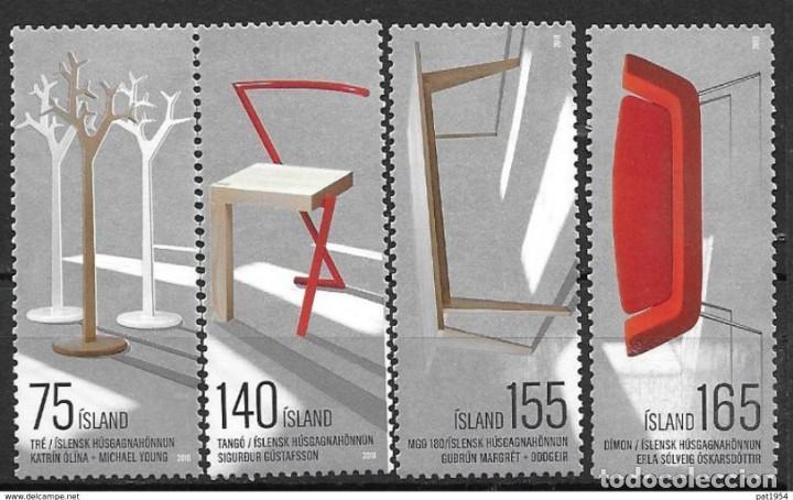 SELLOS NUEVOS DE ISLANDIA 2010, YT 1184/ 87 (Sellos - Extranjero - Europa - Islandia)