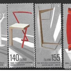 Sellos: SELLOS NUEVOS DE ISLANDIA 2010, YT 1184/ 87. Lote 226890735