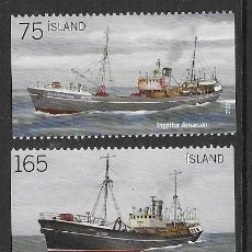Sellos: SELLOS NUEVOS DE ISLANDIA, YT 1184/ 87. Lote 226893225