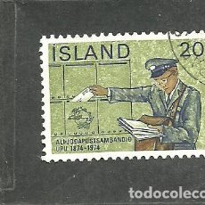 Sellos: ISLANDIA 1974 - YVERT NRO. 452 - USADO. Lote 230705380