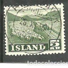 Sellos: ISLANDIA 1950 - YVERT NRO. 233 - USADO. Lote 230708170