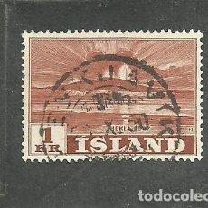 Sellos: ISLANDIA 1948 - YVERT NRO. 213 - USADO. Lote 230708305