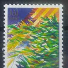 Sellos: ISLANDIA 1987 NAVIDAD SELLO USADO. Lote 232778020