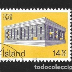 Sellos: ISLANDIA. Lote 232813500
