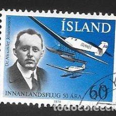 Sellos: ISLANDIA. Lote 232813920