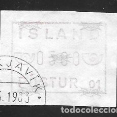 Sellos: ISLANDIA. Lote 232814150