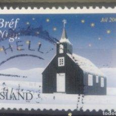 Sellos: ISLANDIA 2001 NAVIDAD SELLO USADO. Lote 232944775