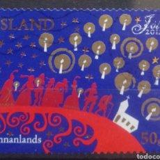 Sellos: ISLANDIA 2012 NAVIDAD SELLO USADO. Lote 232945050