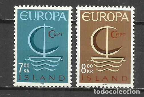 5563-NUEVOS MNH** SERIE COMPLETA ISLANDIA EUROPA 1960 Nº 359/60 (Sellos - Extranjero - Europa - Islandia)