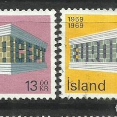 Sellos: 5571- SERIE COMPLETA ISLANDIA EUROPA 1969 Nº 383/4 BONITOS.. Lote 235784510