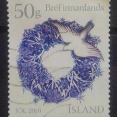 Sellos: ISLANDIA 2010 NAVIDAD SELLO USADO. Lote 240371300