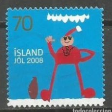 Sellos: ISLANDIA 2008 NAVIDAD SELLO USADO. Lote 253607435