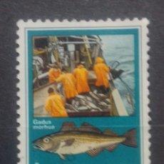 Sellos: ISLANDIA PESCA DE ALTURA SELLO USADO. Lote 272154188