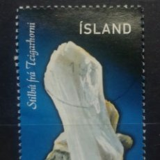 Sellos: ISLANDIA 1998 MINERALES SELLO USADO. Lote 259232680