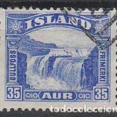 Sellos: SELLO USADO DE ISLANDIA 1931, YT 141. Lote 243837995