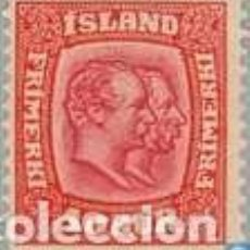 Sellos: SELLO USADO DE ISLANDIA 1913, YT 80. Lote 244569465