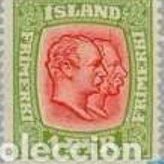 Sellos: SELLO USADO DE ISLANDIA 1917, YT 75. Lote 244570225