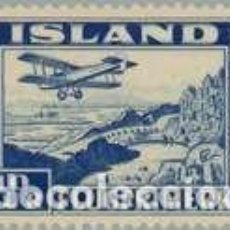 Sellos: SELLO NUEVO DE ISLANDIA 1934, CORREO AEREO YT 15. Lote 244842320