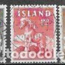 Sellos: SELLOS USADOS DE ISLANDIA 1958, YT 283/ 85. Lote 244844685
