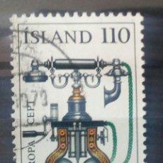 Sellos: ISLANDIA 1979 TEMA EUROPA CEPT SELLO USADO. Lote 245413440