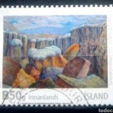Sellos: ISLANDIA 2015 ARTE SELLOS USADO. Lote 245784465