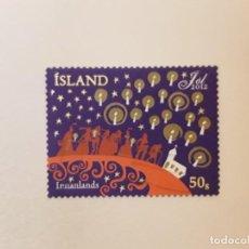 Sellos: ISLANDIA SELLO USADO. Lote 246053735