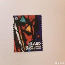Sellos: ISLANDIA SELLO USADO. Lote 246053840