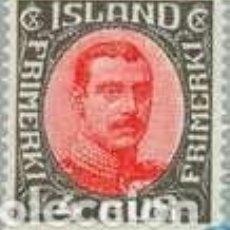 Sellos: SELLO USADO DE ISLANDIA 1920, YT 84. Lote 246082895