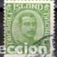 Sellos: SELLO USADO DE ISLANDIA 1922, YT 106. Lote 246085130