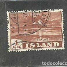 Timbres: ISLANDIA 1948 - YVERT NRO. 213 - USADO. Lote 247478025