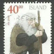 Sellos: ISLANDIA 2000 NAVIDAD SELLO USADO. Lote 253411630