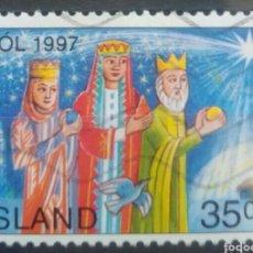 Sellos: ISLANDIA 1997 NAVIDAD SELLO USADO. Lote 253414065