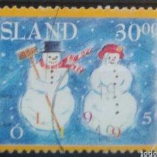 Sellos: ISLANDIA 1995 NAVIDAD SELLO USADO. Lote 253414350