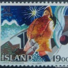 Sellos: ISLANDIA 1998 NAVIDAD SELLO USADO. Lote 253414945