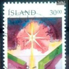 Sellos: ISLANDIA 1991 NAVIDAD SELLO USADO. Lote 253443480