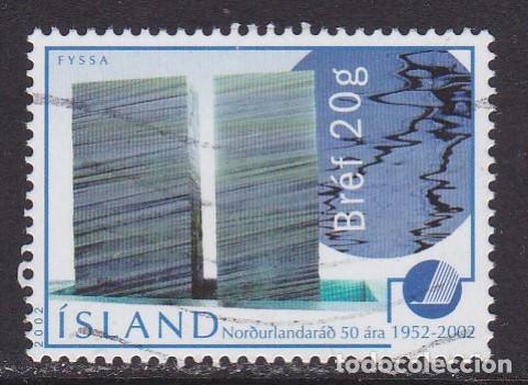 ISLANDIA 2002 - SELLO USADO (Sellos - Extranjero - Europa - Islandia)