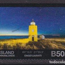 Sellos: ISLANDIA 2012 - SELLO USADO. Lote 253874910
