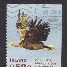 Sellos: ISLANDIA 2014 - SELLO USADO. Lote 253875265