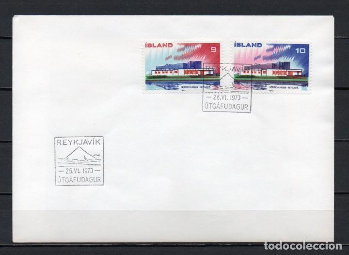 FDC, SOBRE DE PRIMER DÍA DE EMISIÓN DE ISLANDIA -NORDEN-, AÑO 1973 (Sellos - Extranjero - Europa - Islandia)