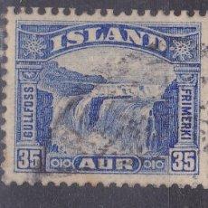 Sellos: FC2-105- ISLANDIA YT 141 USADO. Lote 260295375