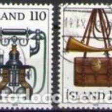Sellos: SELLOS USADOS DE ISLANDIA 1979, YT 492/ 93. Lote 262913450