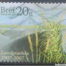 Selos: ISLANDIA 2017 NATURALEZA SELLO USADO. Lote 265883503