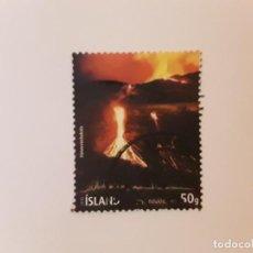 Selos: AÑO 2010 ISLANDIA SELLO USADO. Lote 265942008