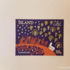Sellos: AÑO 2012 ISLANDIA SELLO USADO. Lote 265942013