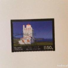 Selos: AÑO 2014 ISLANDIA SELLO USADO. Lote 266841524