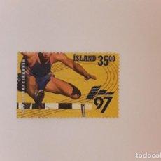 Sellos: AÑO 1997 ISLANDIA SELLO USADO. Lote 266841654