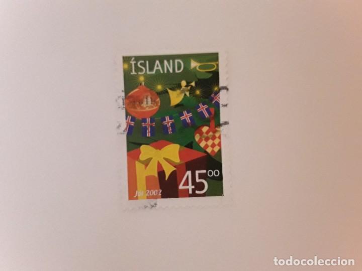 AÑO 2002 ISLANDIA SELLO USADO (Sellos - Extranjero - Europa - Islandia)